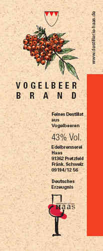 Vogelbeer Brand Selection